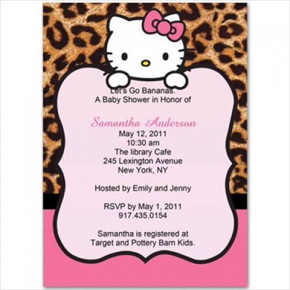 leopard-hello-kitty-baby-shower-invitation