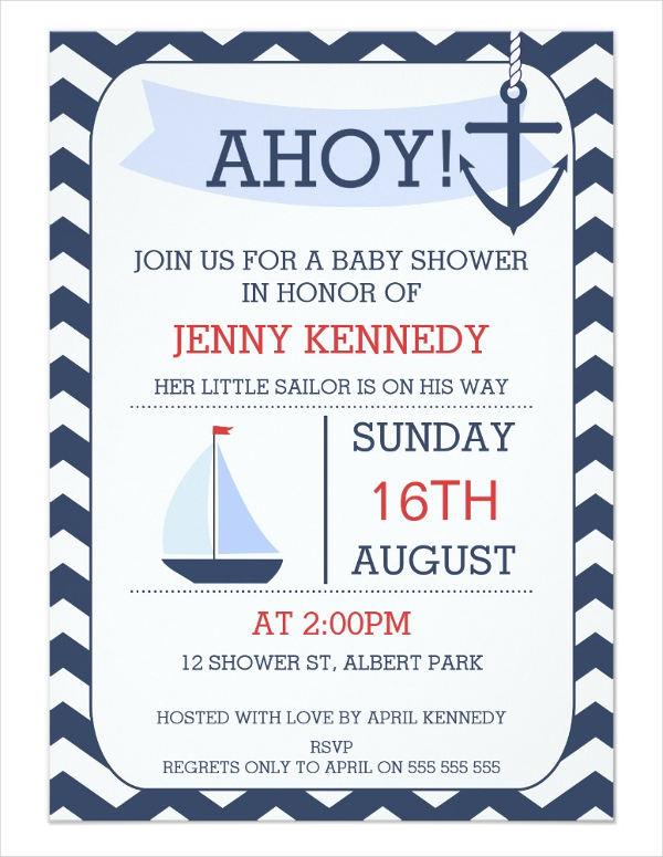 chevron-modern-baby-shower-invitation