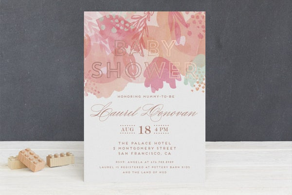 59 Unique Baby Shower Invitations Free Premium Templates