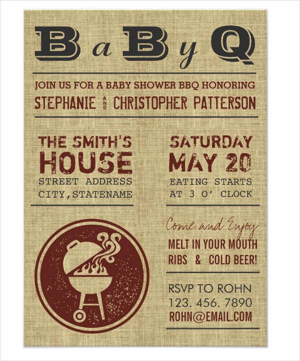 bbq-baby-shower-burlap-invitation