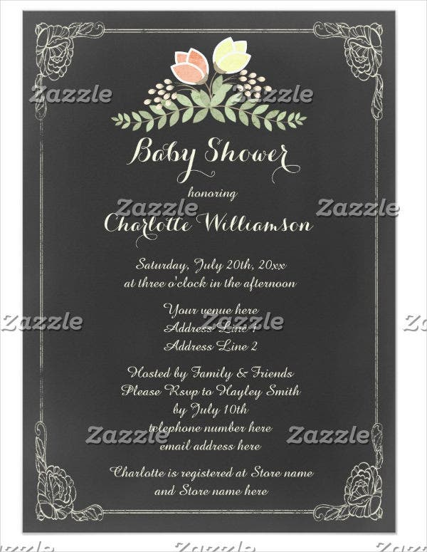 vintage-floral-themed-baby-shower-invitation-card