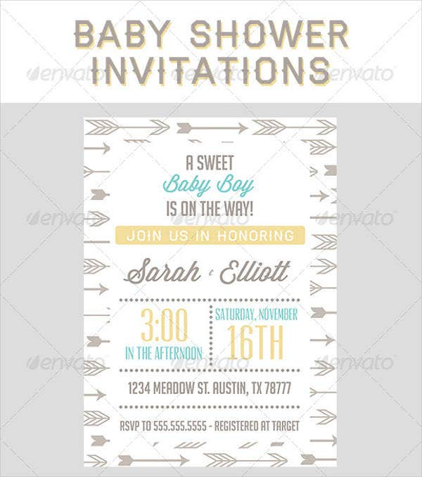boy shower invitation wording