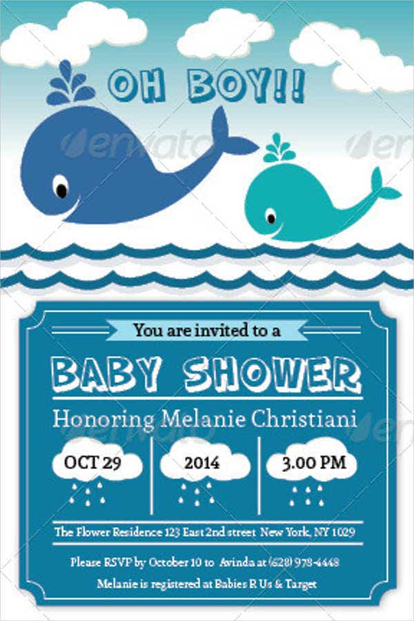 sample email baby shower invitation