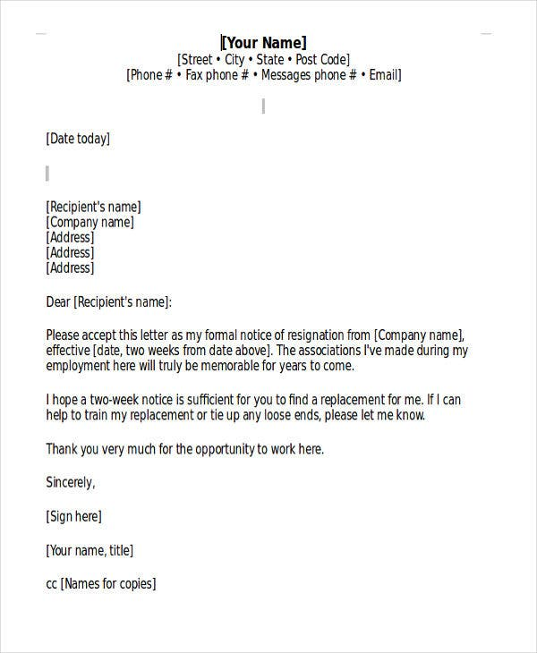 Formal letter format no name resume cover letter sample word format resume cover letter thecheapjerseys Choice Image