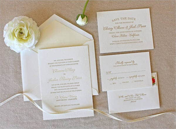 formal destination wedding invitations