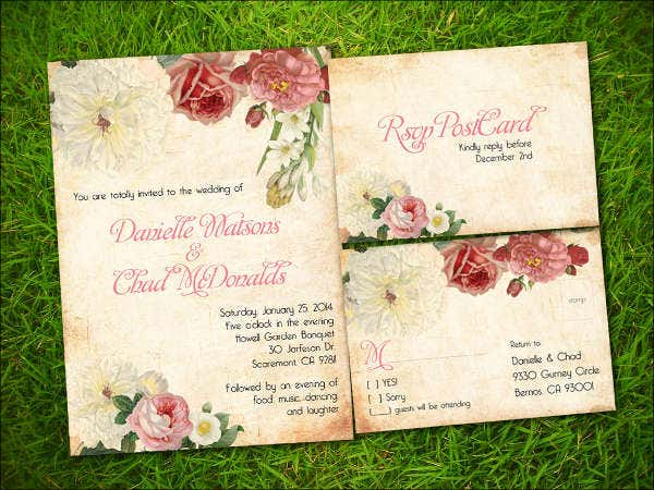 garden-wedding-invitation-templates
