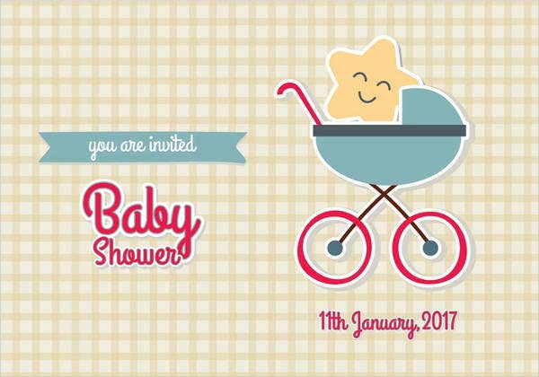 vintage travel baby shower invitation1