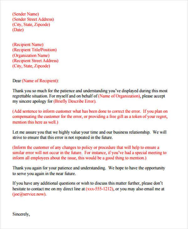 Work apology letter apology letter format workapologyletterformat formal letter format templates free premium templates thecheapjerseys Image collections