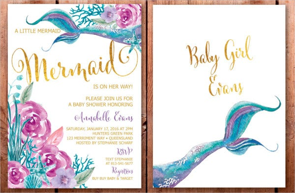 43 Printable Baby Shower Invitations Psd Ai Word Eps Free