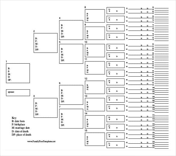 free download pdf format family tree template min