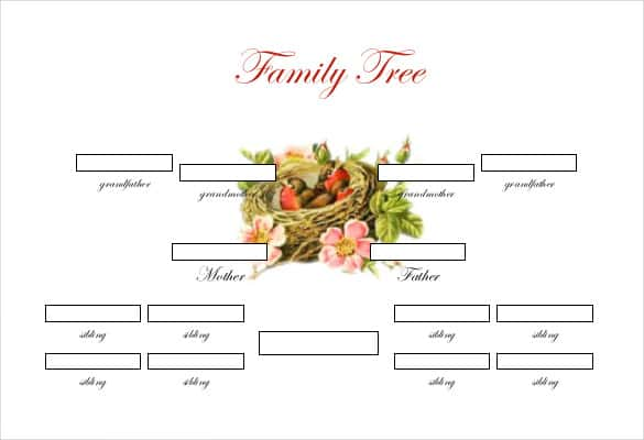 Family Tree Templates Net Romeondinez