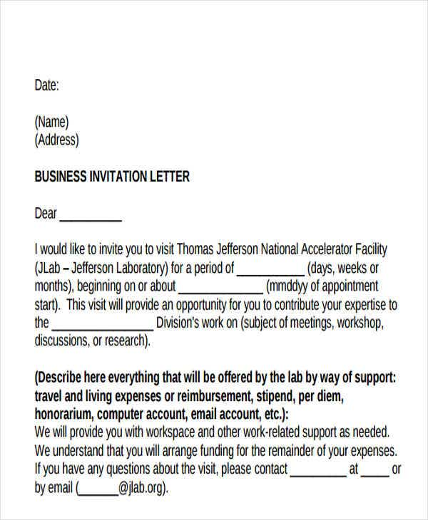 55 formal letter examples free premium templates formal business invitation letter example stopboris Images