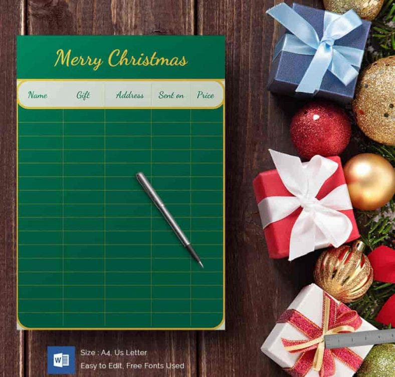 green board christmas gift list min 788x753