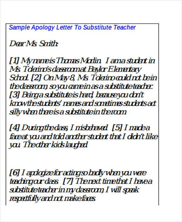 Formal Apology Letter Example. Image Titled Write An Apology