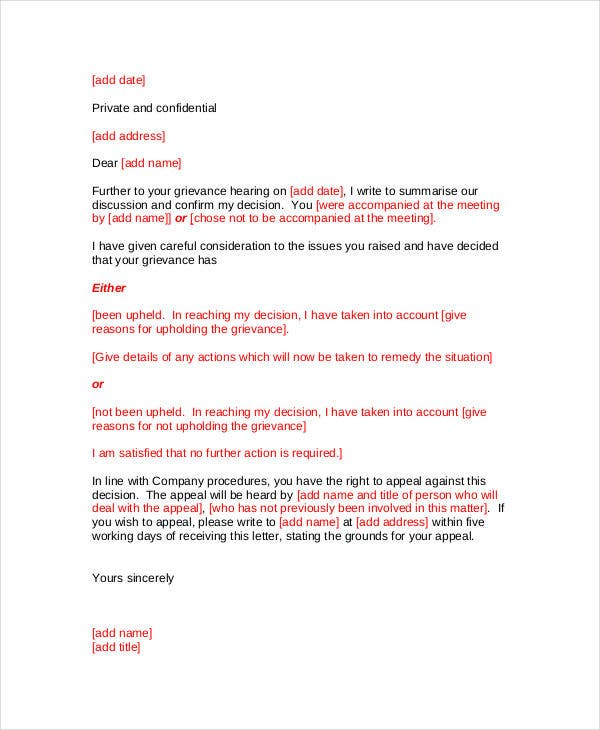 formal letter templates 54 free wordpdf document download