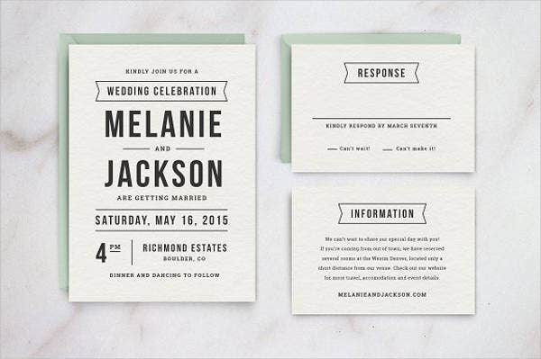 diy wedding reception invitations