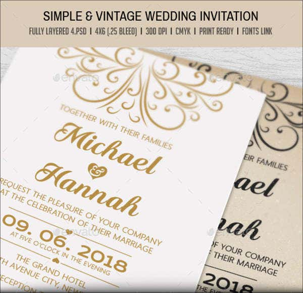 vintage-wedding-engagement-invitation