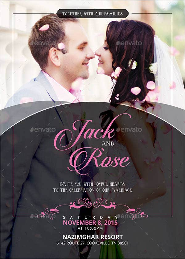 wedding shower photo invitations1