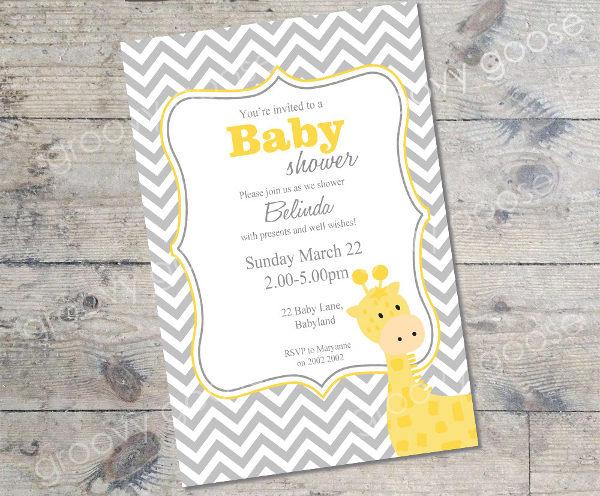 homemade-giraffe-baby-shower-invitation