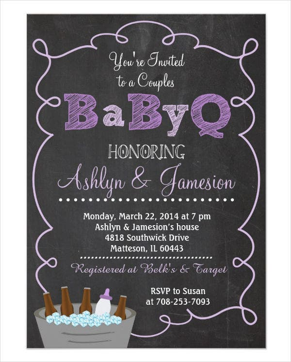 couples-bbq-baby-shower-invitation