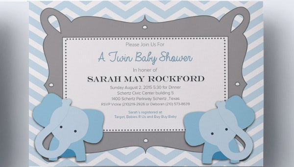 63+ Unique Baby Shower Invitations - Word, PSD, AI | Free