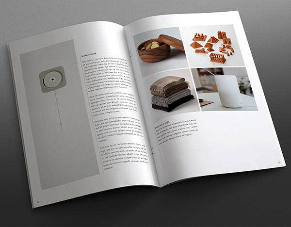 Editable Book Brochure