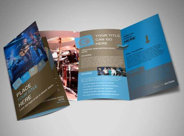 book-band-tri-fold-brochure-template