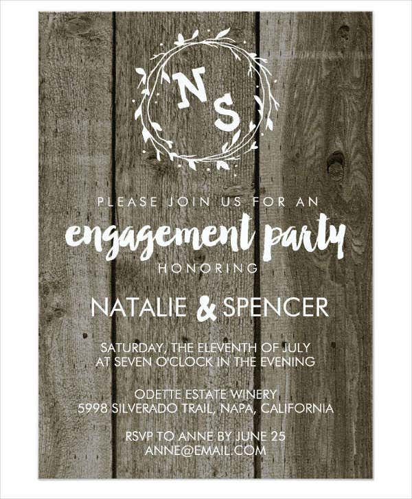vintage-engagement-party-invitation