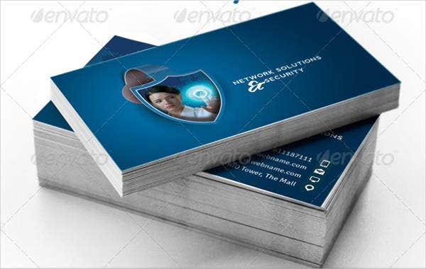 9 networking business card templates free premium templates network security business card colourmoves