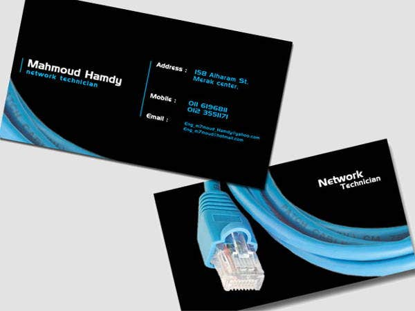 free-network-business-card