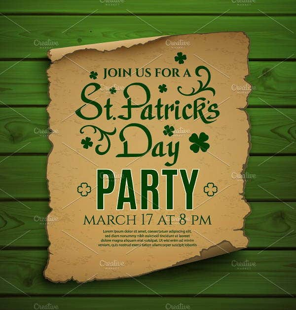10 st patricks day invitation templates psd ai free premium