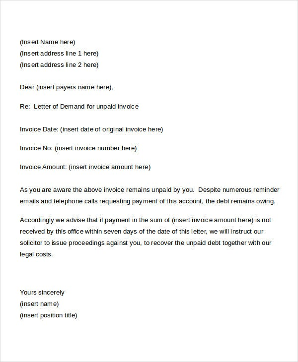 Formal Letter Templates 65 Free Word Pdf Document