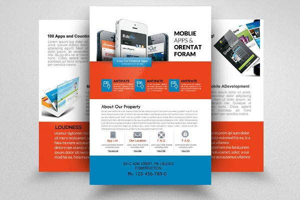 mobile-apps-double-sided-flyer