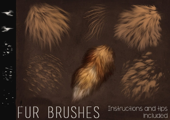 fur-brushes