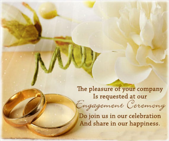 engagement ceremony invitation card2