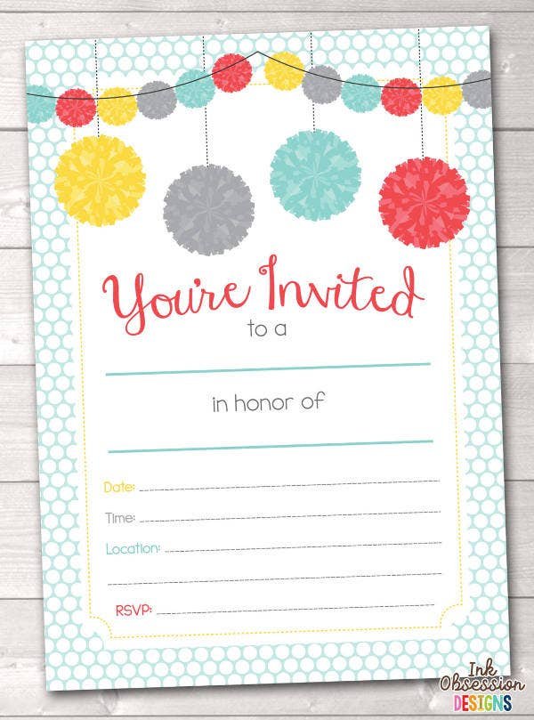 blank-engagement-party-invitation