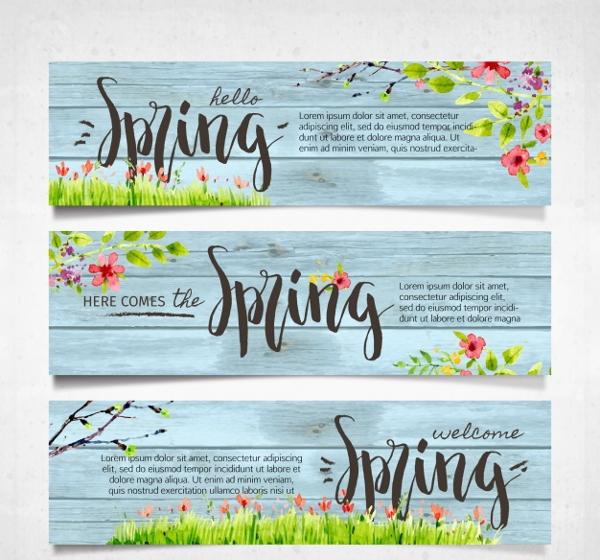vintage-spring-banners