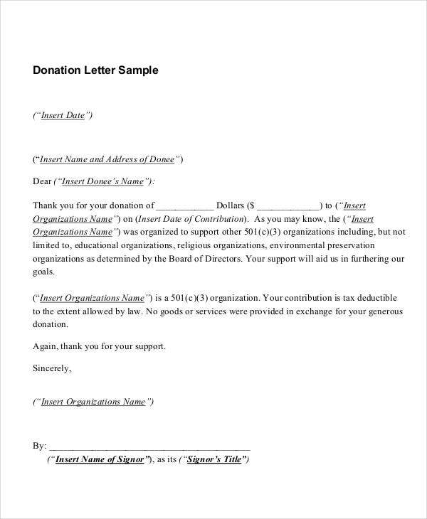 donation thank you letter format1