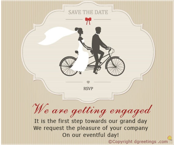 49 Engagement Invitation Designs Psd Ai Vector Eps