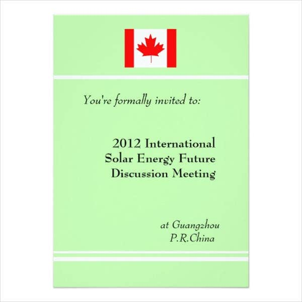 international professional business invitation