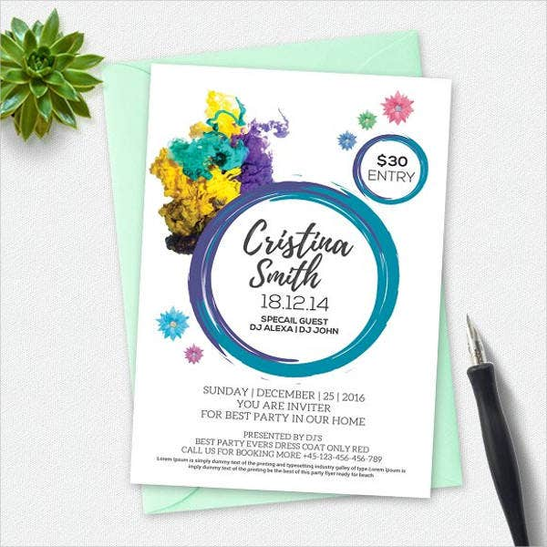 business invitation designs