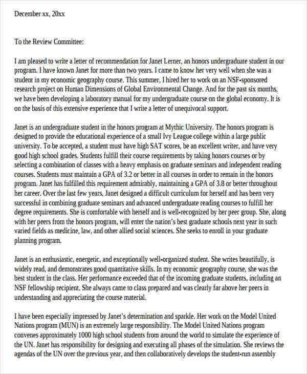 letter of recommendation format for college scholarship2