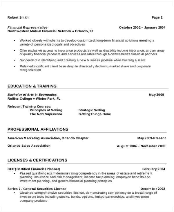 Experienced Professional Resume Template  Experienced Professional Resume
