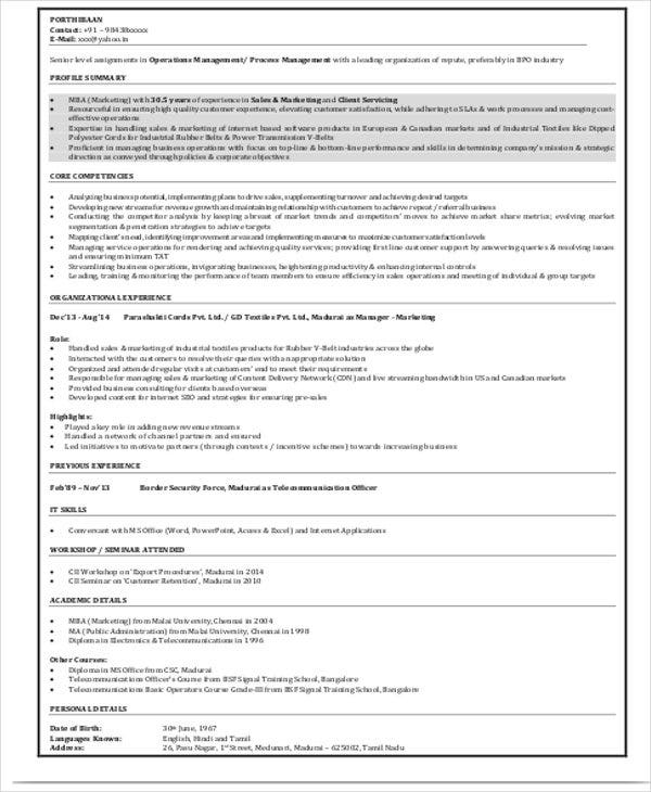 A Professional Resume Format  Resume Format And Resume Maker