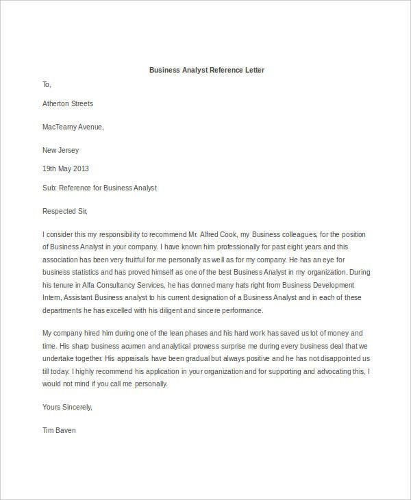 Sample Business Letters  Free  Premium Templates
