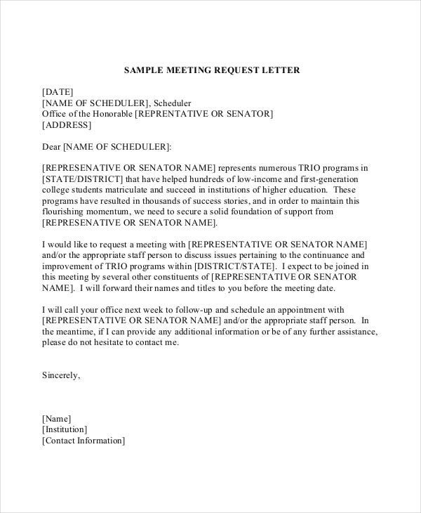 Business letter writing service asking for information