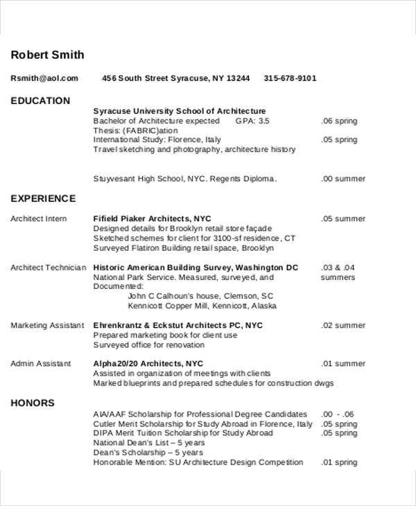 elegant professional resume template