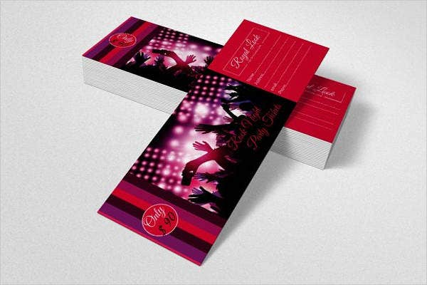 business night gala party invitation