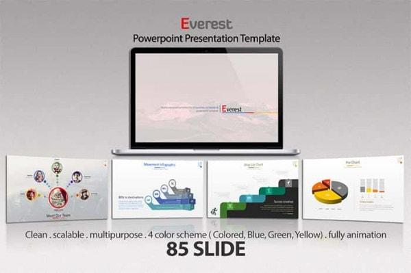 everest powerpoint template min