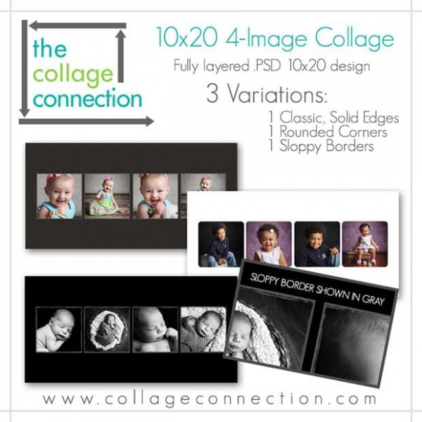 35 photo collage templates free psd vector eps ai indesign